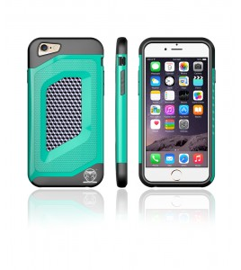 Carbon Fiber Case iphone 6/6S - Green