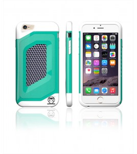 Carbon Fiber Case iphone 6/6S - Green/White