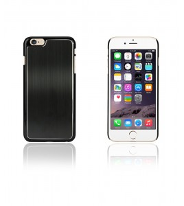 Chrom Back Slim Case iphone 6/6S - Black
