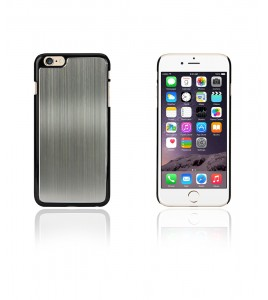 Chrom Back Slim Case iphone 6/6S - Gray