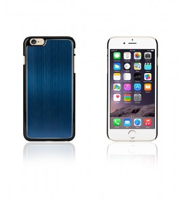 Chrom Back Slim Case iphone 6/6S - Blue