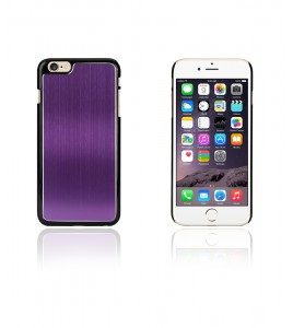 Chrom Back Slim Case iphone 6/6S - Purple